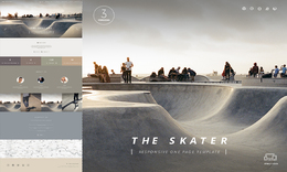 Skaters - One Page HTML Template