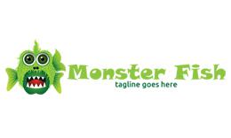 Monster Fish Logo