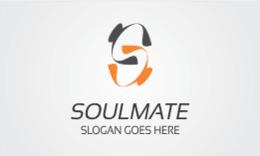 Soulmate - S Letter Logo