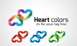 Heart Color Logo