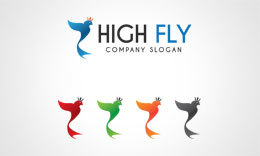 High Fly Logo