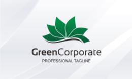 Green Corporate Logo