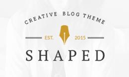 Shaped - WordPress Blog Theme