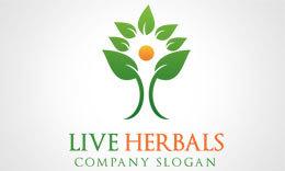 Live Herbals Logo