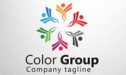 Color Group - Social Logo