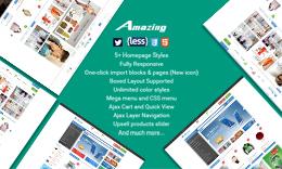 Amazing - Responsive Multipurpose Magento Theme