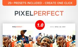 PixelPerfect- Multipurpose WordPress Layers Theme