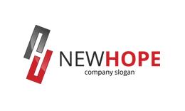 New Hope - Letter H Logo