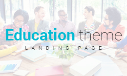 Education - Responsive One Page Landing Template