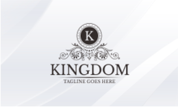 Kingdom - k Luxury Logo