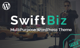 SwiftBiz – Modern Business WordPress Theme for Small
