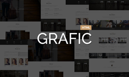 GRAFIC - One Page Responsive Template