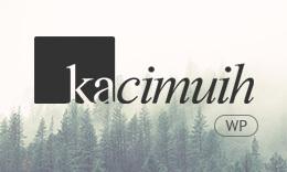 KaciMuih - A Personal Blog WordPress Theme