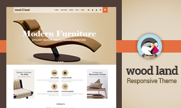 Woodland Prestashop Theme
