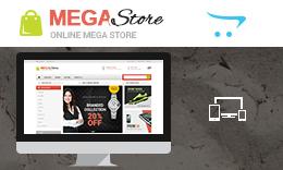 Mega Store - Opencart Responsive Theme