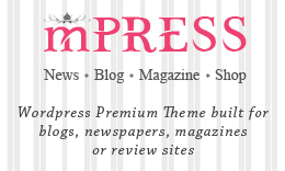 mPRESS - News / Blog / Magazine - WordPress Theme