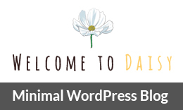Daisy - Simple & Minimal WordPress Blog