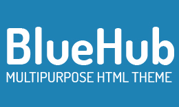 BlueHub - Multipurpose HTML Theme